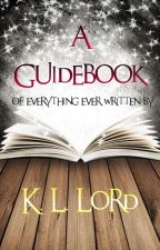 Book Guide by K-L-Lord