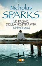 Le pagine della nostra vita: citazioni (libro) by storiesofanalien