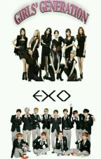 Girls Generation and Exo Boys by Yoongrie