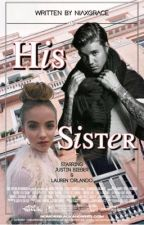 His sister | JB by niaxgrace