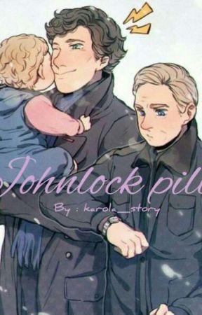 • Johnlock Pill • Sherlock BBC • by karola_story_