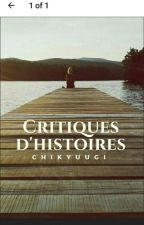 Critiques d'histoires by chikyuugi