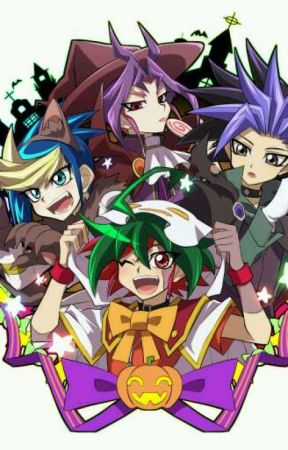 🎃Halloween special: Halloween party🎃 (Yu-Gi-Oh Arc V) by Tsukiko05