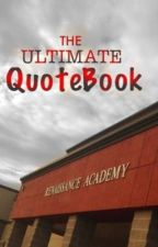 The Ultimate QuoteBook by ZQNorth