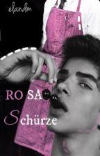 Rosa Schürze || boyxboy  by Elandm