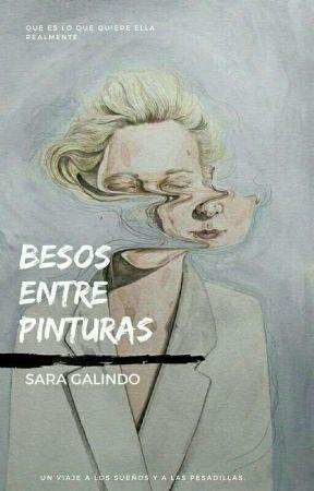 Besos entre pinturas by saragalindo