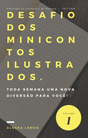 Desafio dos minicontos ilustrados by AleskaLemos