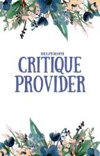 Critique Providers [open] by HelpersPH