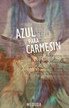 Azul para Carmesin by medousza