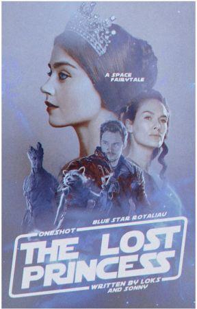 THE LOST PRINCESS 👑 BLUE STAR ROYAL!AU by bottledspace