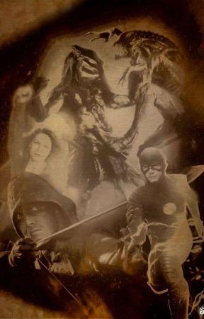 Heroes Vs Aliens Vs Predator by darkwingj