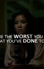 The Worst |Jhene Aiko and Chris Brown Story| by thuggoddess