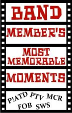 Band Member's Most Memorable Moments by ImNotObsessedISwear