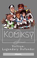 Komiksy » Voltron 2 by kogane_chan