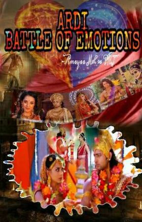 Battle Of Emotions - ArjunDraupadi  by amayaa_pkj