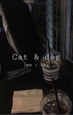 """Cat & dog """"meanie"""" by SosaMo55"""