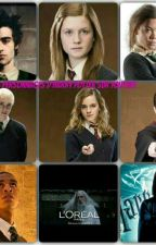 Les personnages d'Harry Potter sur youtube by DarcyMalefoy07