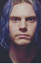 El chico de cabello azul by EvanLovePetersLove