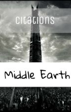 Citations | Middle Earth by Thosdir