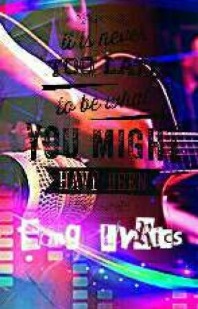 SONG LYRICS  💕 by Fisya1703