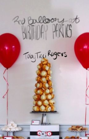 Red Balloons At Birthday Parties // IT by TobyTicciRogers