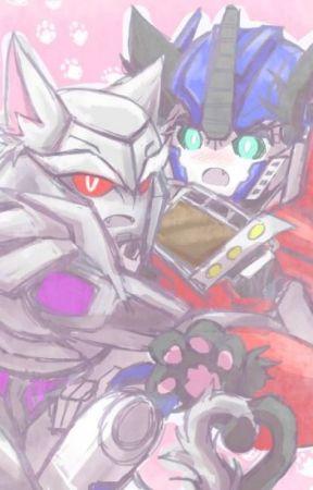 Tfp catformers x reader - Optimus x depressed! self-harm