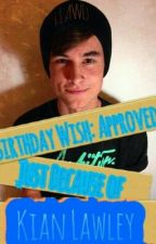 Birthday Wish: Approved, Just Because of Kian Lawley by styletv