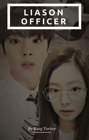 X1 University Life #1 - Liaison Officer (Jennie - Wooseok) by kangtaehee1998