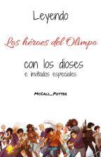 Leyendo Los héroes del Olimpo by Jackson_Schreave