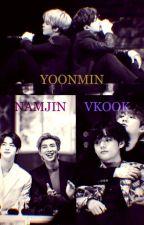Namjin , kookv y Yoonmin by steval2523