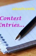 Contest Entries.... by aeiou5vowels
