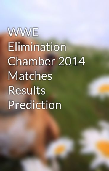 WWE Elimination Chamber 2014 Matches Results Prediction