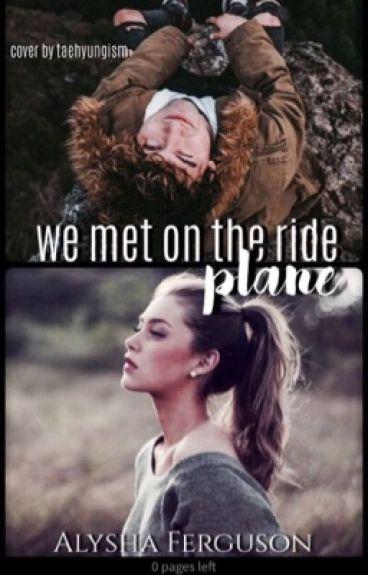 We met on the plane ride (Jc Caylen fanfiction)