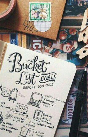 Random List And Ideas New Year S Bucket List Wattpad