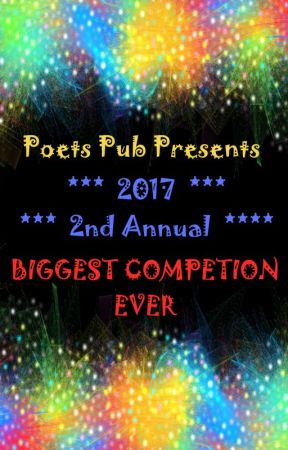 [CLOSED] The Biggest Competition Ever 2017 (Weeks 1-5) by PoetsPub