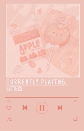 letters   agustchim   cmplt ✔ by SLEEPMIN