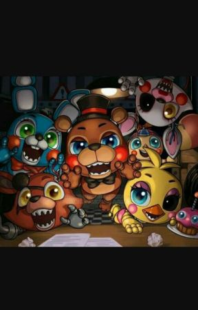 FNaF x Me And My Friends by NoratheChartreux