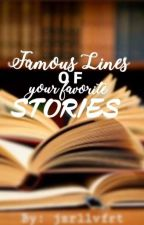 Famous Lines Of Your Favorite Story by ArmyJez