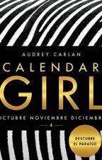 CALENDAR GIRL 4 ( OCTUBRE, NOVIEMBRE, DICIEMBRE ) by Martha-102