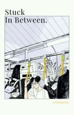 Stuck In Between [BNHA × MALE READER] by rainingsins