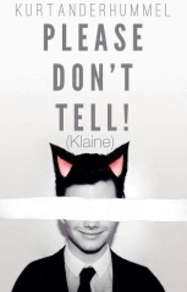 Please Don't Tell!  (Klaine)