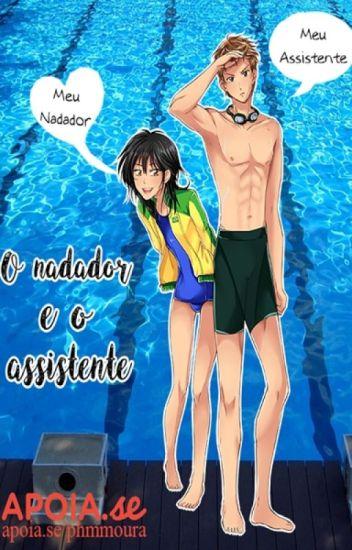O nadador e o assistente