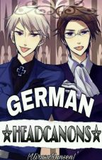 German Headcanons || Hetalia by Schwarz_Vienna