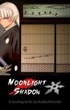 Moonlight Shadow - Sesshomaru x Kagome by buttbuttdoodle