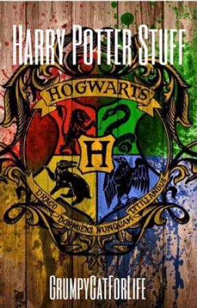 Harry Potter Stuff by GrumpyCatForLife
