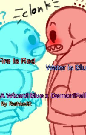 fire is red water is blue wizard blueberry x demon fell 1