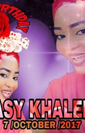 HAPPY BDAY ASYKHALEEL  by asykhaleel