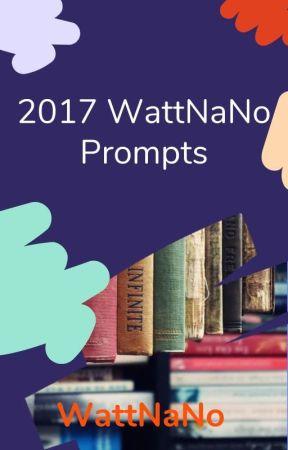 2017 NaNo Prompts by WattNaNo