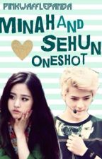 Valentine's Day Special; Minah and Sehun by PinkWafflePanda