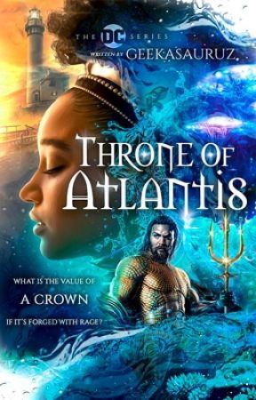 Throne of Atlantis// Aquaman by Geekasauruz